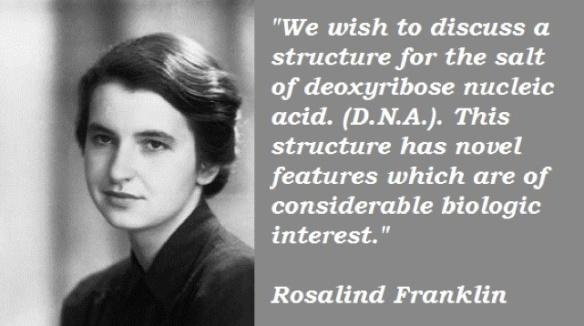 Rosalind Frankin